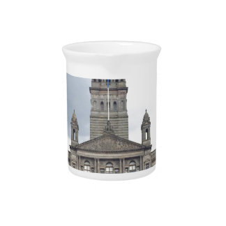 Het Stadhuis van Glasgow Bier Pitcher