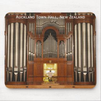 Het stadhuisorgaan van Auckland mousepad Muismat