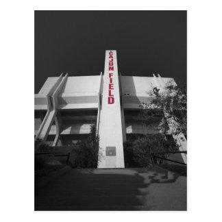 Het Stadion van het Gebied ULL Cajun Briefkaart