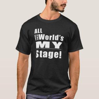 Het Stadium van al Wereld Mijn T Shirt