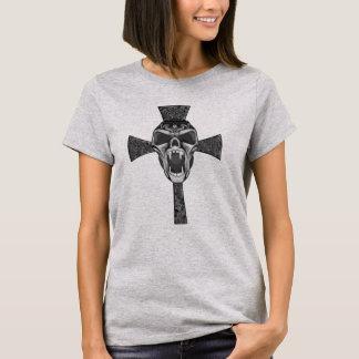 Het stammen Art. van de Gothic van de Schedel van T Shirt
