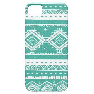 Het stammen Azteekse Patroon van het Kant Barely There iPhone 5 Hoesje