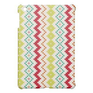 Het stammen Geïnspireerde MiniHoesje van de Zigzag iPad Mini Case