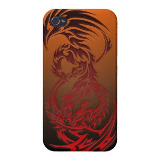 het stammen hoesje van de draaktelefoon iPhone 4 cover