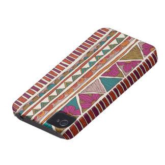 Het stammen Hoesje van iPhone van de Druk