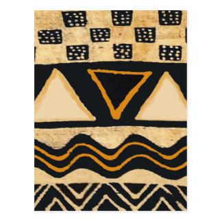Het Stammen Inheemse Amerikaanse Ontwerp van het Briefkaart