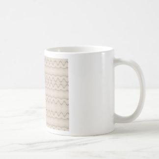Het stammen Ontwerp van het Patroon van de Zigzag Koffiemok