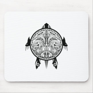 Het stammen Tattoo van het Schild van de Schildpad Muismat