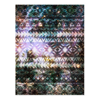 Het StammenPatroon de Ruimte Azteekse Etnische Briefkaart