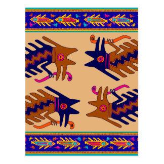 Het StammenSerpent van Inca Briefkaart