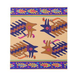 Het StammenSerpent van Inca Notitieblok