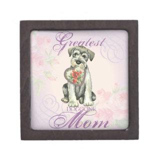 Het standaard Mamma van het Hart Schnauzer Premium Cadeau Doosjes