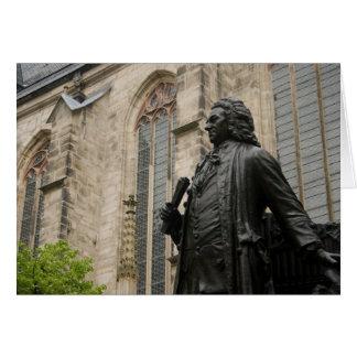 Het Standbeeld van Bach Briefkaarten 0