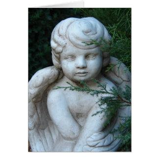 Het Standbeeld van de cherubijn, Vrolijke Kerstmis Kaart