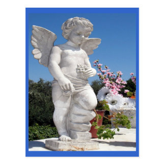 Het Standbeeld van de engel Wens Kaarten
