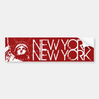 Het Standbeeld van de Sticker van de Bumper van Bumpersticker