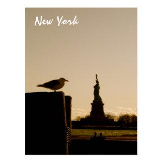 Het standbeeld van Vrijheid Briefkaart