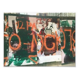 Het Stedelijke Art. van Graffiti Spraypaint van Foto Afdrukken