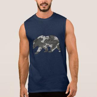 Het stedelijke Patroon Camo draagt T Shirt