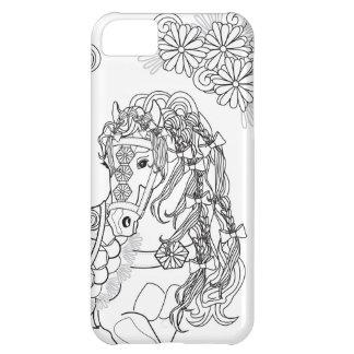 Het steigeren Daisy Horse iPhone 5C iPhone 5C Hoesje