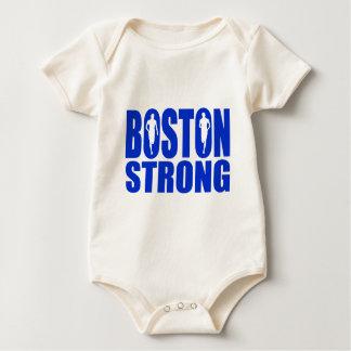 Het sterke Blauw van Boston Baby Shirt