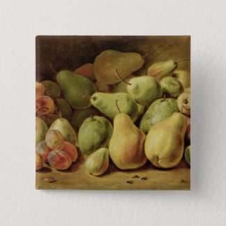 Het Stilleven van het fruit Vierkante Button 5,1 Cm