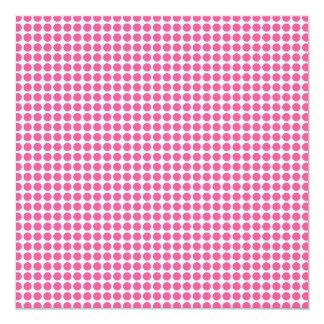 Het Stip van de Kauwgom 13,3x13,3 Vierkante Uitnodiging Kaart