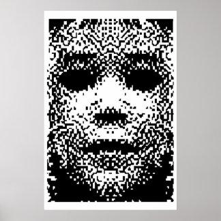 Het Stof van het pixel Poster