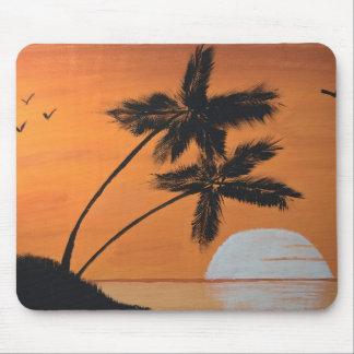 Het Stootkussen van de Muis van de Palmen van de Muismat