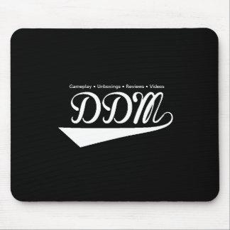 Het Stootkussen van de Muis van het Logo DDM Muismat