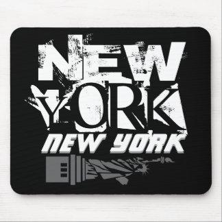 Het Stootkussen van de Muis van New York New York Muismat