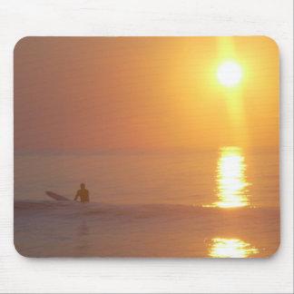 Het Stootkussen van de Muis van Surfer van de zons Muismatten