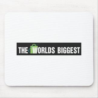 Het stootkussen van de Muis van Werelden Grootste Muismat