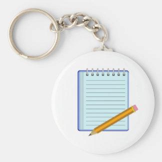 Het Stootkussen van de nota Sleutelhanger