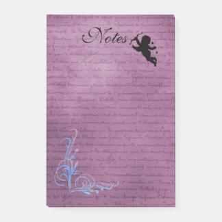 Het Stootkussen van de Nota van de Cupido Post-it® Notes