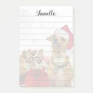 Het stootkussen van de post-itnota's van de Honden Post-it® Notes
