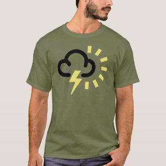 Het Storm van de donder: Retro T Shirt