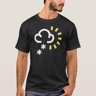 Het Storm van de sneeuw: Retro T Shirt