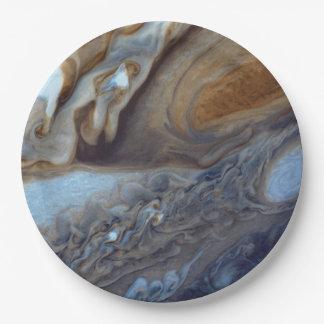 Het Storm van Jupiter Papieren Bordje