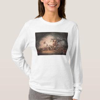 Het stormen van Ciudad Rodrigo, aquatinted langs T Shirt