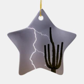 Het Stormen van de Moesson van de Woestijn van Keramisch Ster Ornament