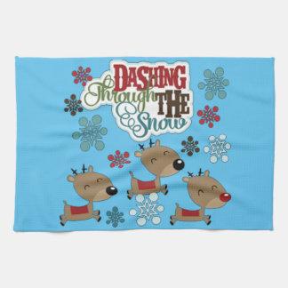 Het stormen werpt de Sneeuw Handdoek