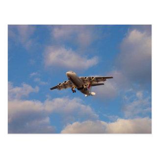 Het Straal Landen van Avro RJ85 Briefkaart