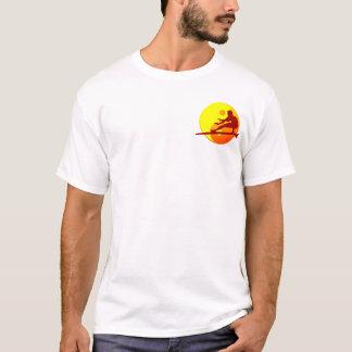 Het Strand Bondi van Zen van Surfer (Zonnestraal) T Shirt