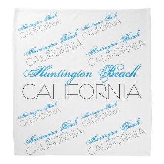 Het Strand CALIFORNIË van Huntington Bandana