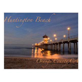 Het Strand Californië van Huntington Briefkaart
