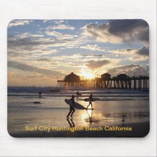 Het Strand Californië van Huntington van de Stad v Muismatten
