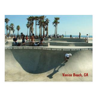 Het Strand die van Venetië Briefkaart met een