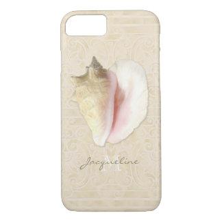 Het strand droomt Elegant Shells van de Kroonslak iPhone 7 Hoesje