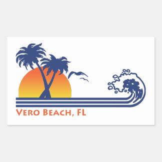 Het Strand Florida van Vero Rechthoekige Sticker